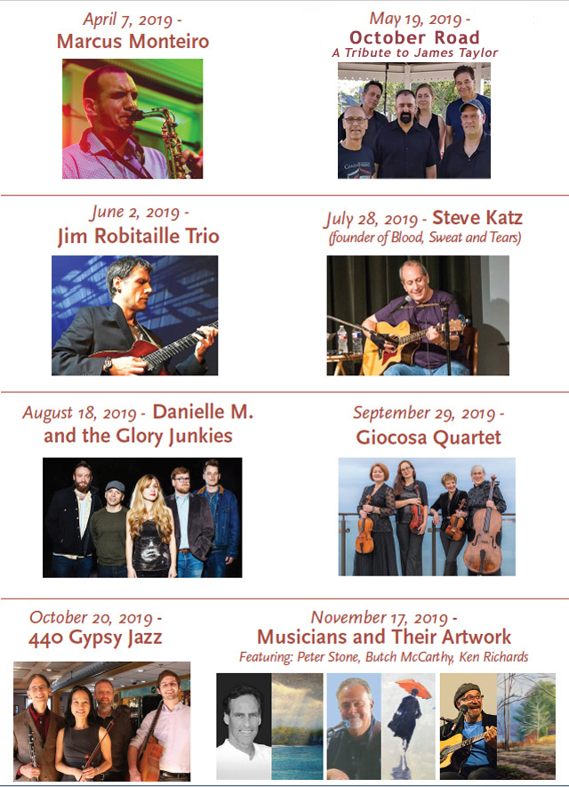 Concerts Sponsored By Six String Music Company